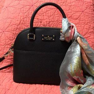 Small Maise black Kate Spade Cameron street purse